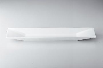 【まとめ買い10個セット品】和食器 ホワイト 舟型長皿(小) 36K401-11 まごころ第36集 【キャンセル/返品不可】【ECJ】