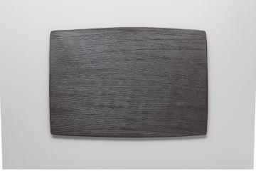 【まとめ買い10個セット品】和食器 炭化黒 陶板L 35K388-02 まごころ第35集 【キャンセル/返品不可】【ECJ】