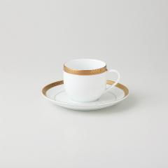 【まとめ買い10個セット品】和食器 ビクトリーゴールド(純白強化 コーヒーカップ 35A452-09 まごころ第35集 【キャンセル/返品不可】【ECJ】