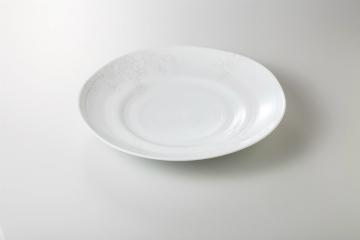 【まとめ買い10個セット品】和食器 UNKIN Kusume 34特大皿 35H401-01 まごころ第35集 【キャンセル/返品不可】【ECJ】
