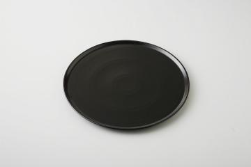 【まとめ買い10個セット品】和食器 黒ピザプレート (中) 35A499-07 まごころ第35集 【キャンセル/返品不可】【ECJ】