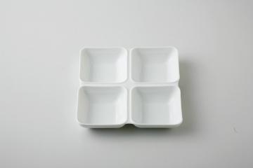 【まとめ買い10個セット品】和食器 白磁 四切皿 35M479-06 まごころ第35集 【キャンセル/返品不可】【ECJ】