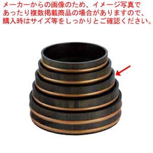 和食器 天然木盛込桶黒彩色 目皿付 尺2 36R526-53 まごころ第36集 【ECJ】