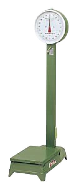 ヤマト 自動台秤中型 D-100MZ 100kg(車付) 【ECJ】