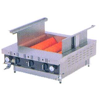 【業務用】建厨 ローストクックK型K-3C 都市ガス [魚焼・蒲焼用グリラー]【 メーカー直送/後払い決済不可 】