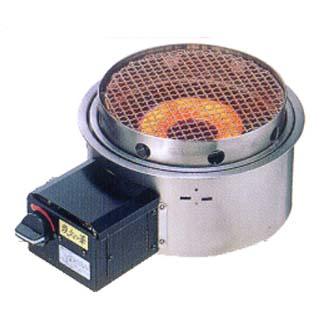【業務用】炭火の華 焼物コンロ 埋込タイプ KR-KAD [赤外線:コンロ埋込式] 【 メーカー直送/代引不可 】 【 送料無料 】