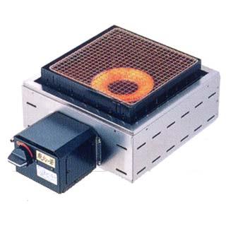 【業務用】炭火の華 焼物コンロ 埋込タイプ KR-ZA [赤外線:コンロ埋込式] 【 メーカー直送/後払い決済不可 】