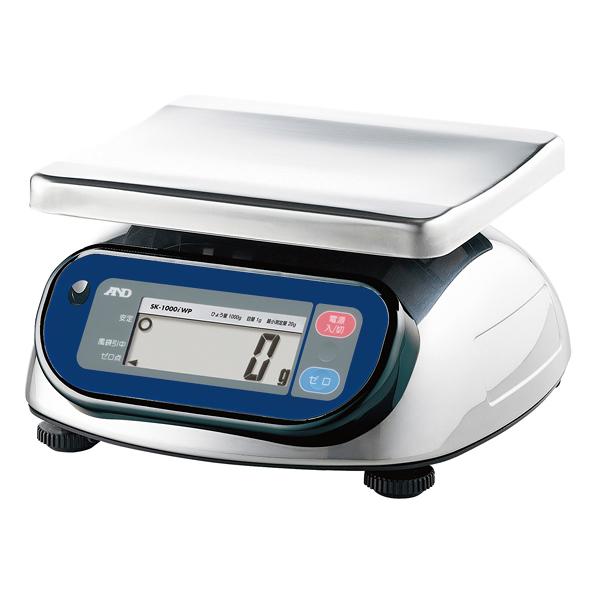 A&D 防水・防塵デジタルはかり SK-iWP SK-1000iWP 【ECJ】