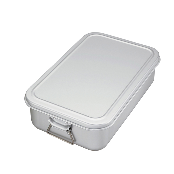アルミ 蒸気用炊飯鍋 蓋付 7.2l(4.0升) 【ECJ】