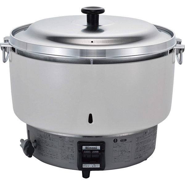 リンナイ ガス炊飯器 RR-50S1-F (5升炊き・フッ素釜) LP 【ECJ】