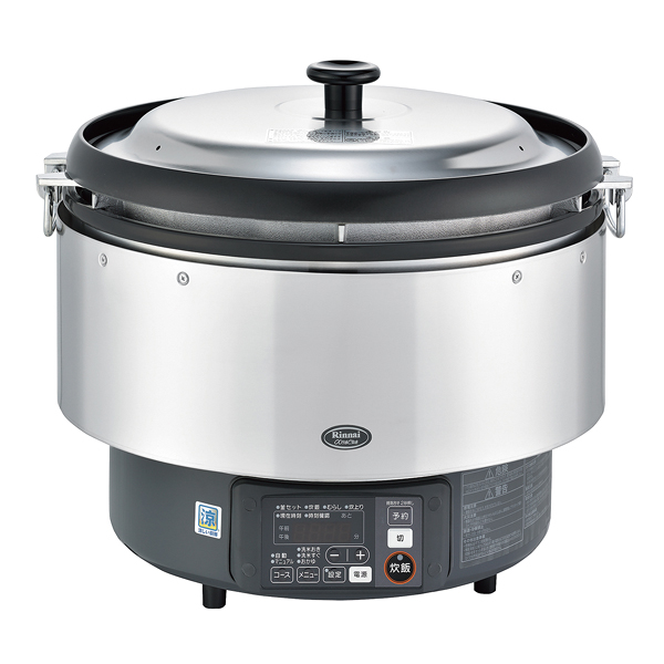 リンナイ αかまど炊き炊飯器(涼厨) RR-S500G(3升炊き・フッ素釜) LP 【ECJ】