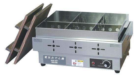 電気おでん鍋 NHO-6SY(6ツ切) 【ECJ】