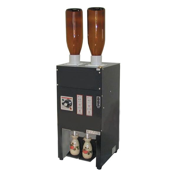 電気式 酒燗器 (2本取り) RE-2 (2本立て) 【ECJ】