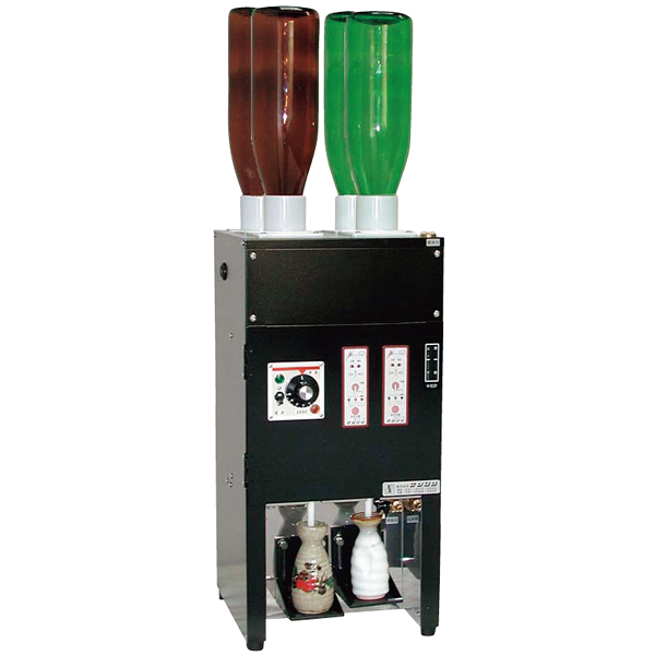 電気式 酒燗器 (2本取り) REW-2 (4本立て) 【ECJ】