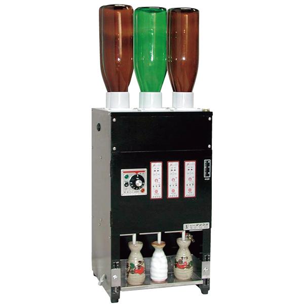 電気式 酒燗器 (3本取り) REW-3 (6本立て) 【ECJ】
