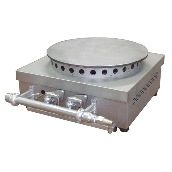 ガス式クレープ焼器 KP-10(1連式) 13A 【ECJ】