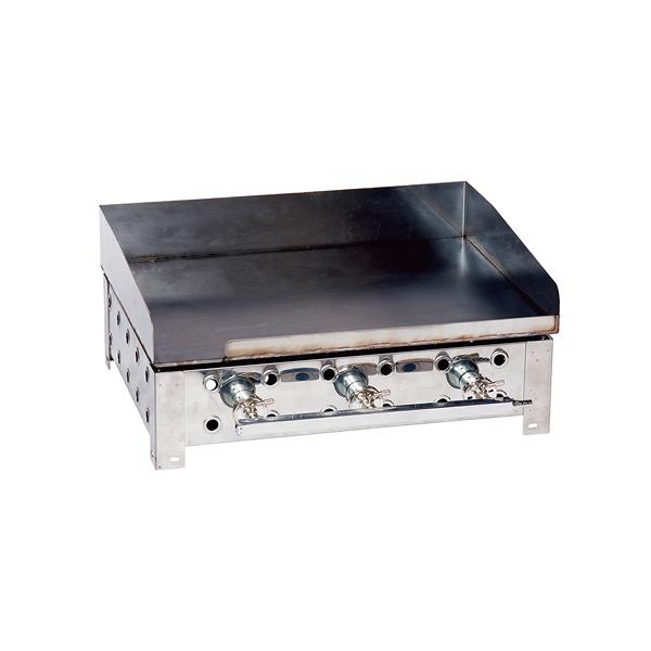 鉄板焼きグリラー(火床+6mm鉄板) 600 13A 【ECJ】