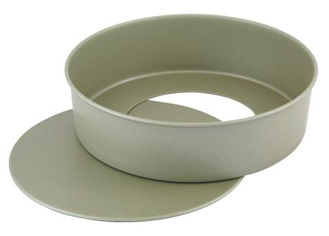kisi-12-0501-2002 最新号掲載アイテム フッ素樹脂 全品最安値に挑戦 ベイクウェア チーズケーキ ECJ デコ底取型 21cm