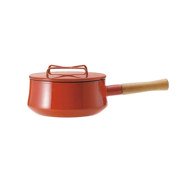 ダンスク 片手鍋 18cm チリレッド 【ECJ】