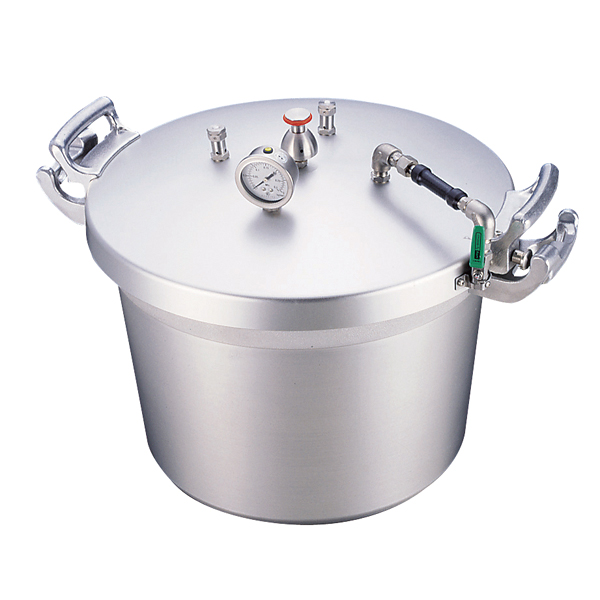 アルミ 業務用圧力鍋(第2安全装置付) 40l 【ECJ】