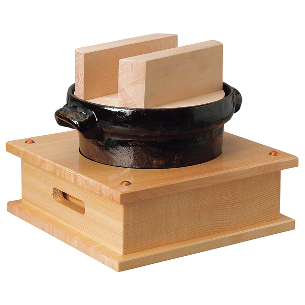 3合ごはん鍋(白木木蓋) 【ECJ】