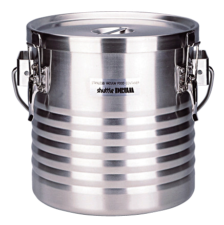 18-8 真空断熱容器 シャトルドラム JIK-W12 【ECJ】