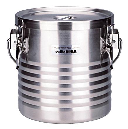 18-8 真空断熱容器 シャトルドラム JIK-W18 【ECJ】