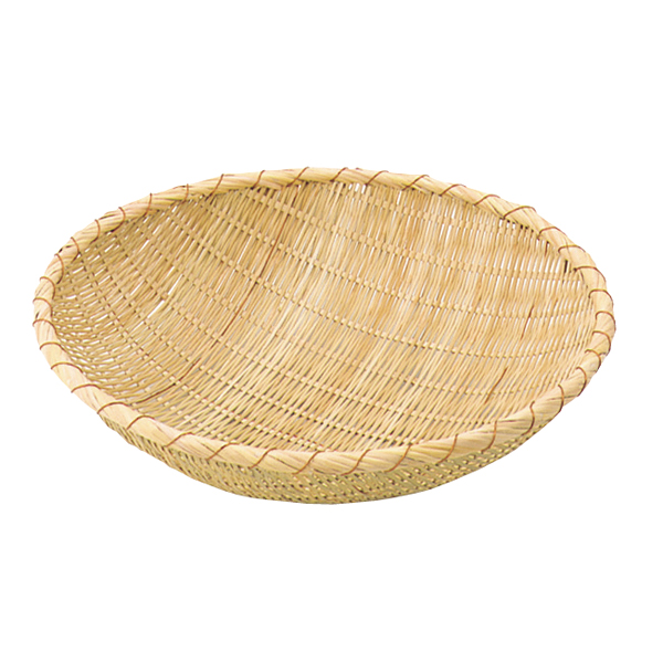 竹製揚ザル [外]45cm 【ECJ】
