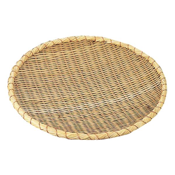 竹製 溜ザル 48cm 【ECJ】