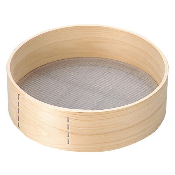 kisi-12-0145-0702 木枠 粉フルイ 8寸 新作通販 信託 ECJ