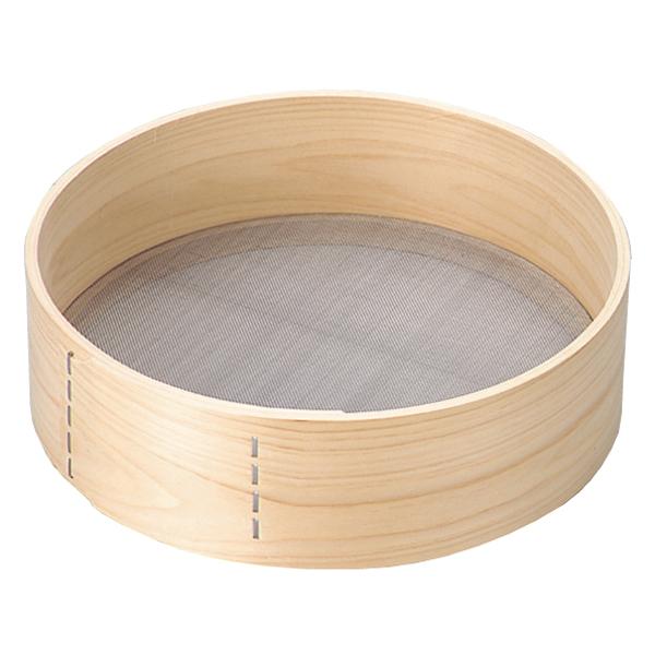 ついに入荷 kisi-12-0145-0706 木枠 粉フルイ 宅送 尺2 ECJ