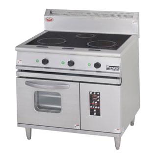 業務用 マルゼン IHレンジ MIR-097X 【 厨房機器 】 【 メーカー直送/後払い決済不可 】 【ECJ】