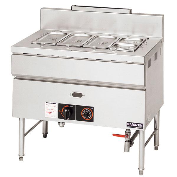 【業務用】 マルゼン ガス式ウォーマーテーブル サーモスタット付〔MGY-126C〕 【 厨房機器 】 【 メーカー直送/後払い決済不可 】