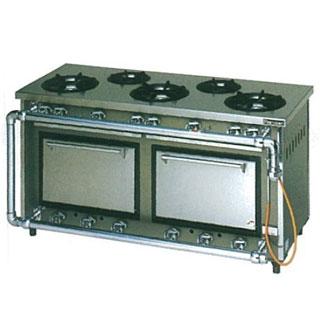 【業務用】マルゼン スタンダードタイプガスレンジ〔MGR-156CS〕 【 厨房機器 】 【 メーカー直送/後払い決済不可 】