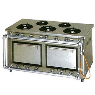 【業務用】マルゼン スタンダードタイプガスレンジ〔MGR-157CS〕 【 厨房機器 】 【 メーカー直送/代引不可 】 【 送料無料 】