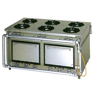 【業務用】マルゼン スタンダードタイプガスレンジ 両面式〔MGR-159WCS〕 【 厨房機器 】 【 メーカー直送/代引不可 】 【 送料無料 】