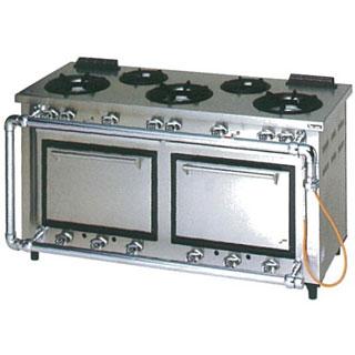 【業務用】マルゼン デラックスタイプガスレンジ〔MGRD-156CS〕 【 厨房機器 】 【 メーカー直送/後払い決済不可 】