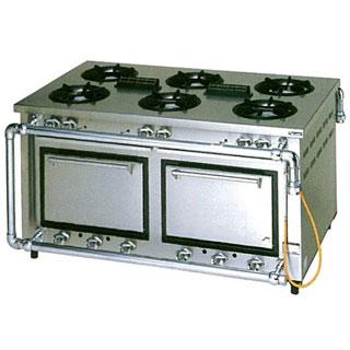 【業務用】マルゼン デラックスタイプガスレンジ 両面式〔MGRD-159WCS〕 【 厨房機器 】 【 メーカー直送/後払い決済不可 】