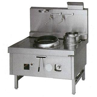 【業務用】 マルゼン ガス式中華レンジ SRX-F330BR 【 厨房機器 】 【 メーカー直送/後払い決済不可 】