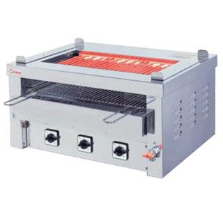 【業務用】押切電機 卓上型 電気グリラー (両面焼卓上万能タイプ) G-10TW(給排水付) 720×550×350【 メーカー直送/後払い決済不可 】