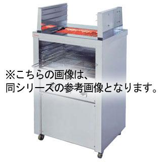 【業務用】押切電機 スタンド型 電気グリラー(両面焼) (上下3段焼棚付) 高さ=1050 G-15HW 890×580×1050【 メーカー直送/後払い決済不可 】