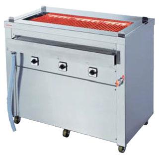 押切電機 スタンド型 電気グリラー (万能タイプ) G-18(給排水付) 1020×580×850【 メーカー直送/後払い決済不可 】 【ECJ】
