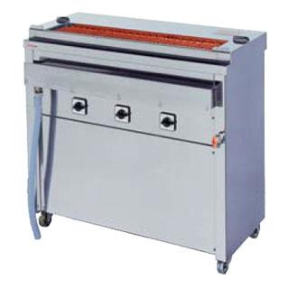 【業務用】押切電機 スタンド型 電気グリラー (大串焼きタイプ) GK-10-1(給排水付) 910×410×850【 メーカー直送/後払い決済不可 】