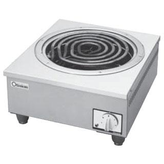 押切電機 電気コンロ OEC-40P 450×500×250【 メーカー直送/後払い決済不可 】 【ECJ】