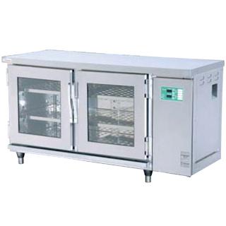 【業務用】押切電機 横型電気温蔵庫 (前面開閉タイプ 2枚扉・ガラス型) OHS-156-GYA 1500×600×800【 メーカー直送/後払い決済不可 】