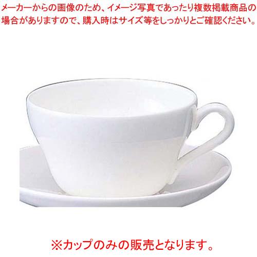 【まとめ買い10個セット品】W・W ホワイトコノート ティーカップ 53610003280【 和・洋・中 食器 】 【ECJ】