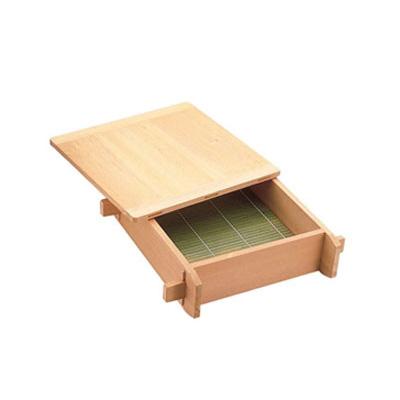 【まとめ買い10個セット品】木製 角セイロ 関東型(サワラ材) 45cm
