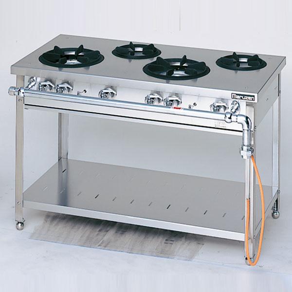 【業務用】 マルゼン スタンダードタイプガステーブル MGT-126DS 1200×600×800 12A・13A(都市ガス)【 メーカー直送/後払い決済不可 】【ECJ】
