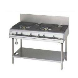 【業務用】マルゼン NEWパワークックガステーブル RGT-1262C 1200×600×800【 メーカー直送/後払い決済不可 】