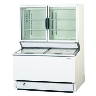 【業務用】パナソニック 冷凍ストッカー SCR-D120NB 1204×749×1665 デュアル型【 メーカー直送/後払い決済不可 】
